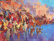Alex Hook Krioutchkov Art - Varanasi II by Alex Hook Krioutchkov