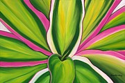 Lisa Bentley Art - Variegated Delight Painting by Lisa Bentley