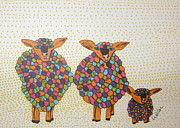 Marcia Weller-Wenbert - Variegated Yarn