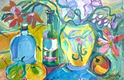 Brenda Ruark - Vase and Bottles in...