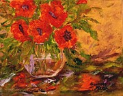 Barbara Pirkle - Vase of Poppies