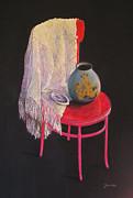 Julia Blackler - Vase On A Chair