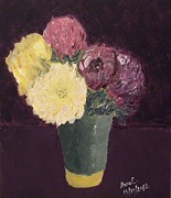 Manuela Constantin - Vase with chrysanthemums