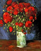 Vincent Van Gogh - Vase With Red Poppies -...