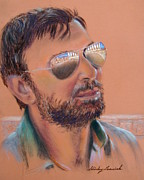 Sunglasses Pastels - Vassilios the Acropolis Guide by Shirley Leswick