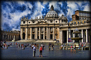 Vatican City Framed Prints - Vatican City - The Bishop of Romes Home Framed Print by Lee Dos Santos