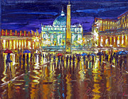 Vatican Paintings - Vatican lights by Roman Czerwinski
