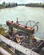 Waterscape Painting Prints - Vaucluse Valve Print by Frank Giordano