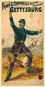 Graphic Prints - Vaudeville Gettysburg Print by Gary Grayson