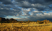 Old West Framed Prints - Vedauwoo Sky Framed Print by Aaron S Bedell