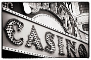 Las Vegas Artist Photo Prints - Vegas Casino Print by John Rizzuto