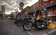Harley Davidson Photos - Vegas Hogs  by Rob Hawkins