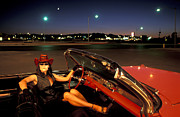 Caddy Prints - Vegas Night Print by Christian Heeb