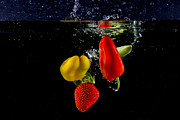 Dunk Photo Posters - Vegetable Soup for the Soul Poster by Rene Triay Photography