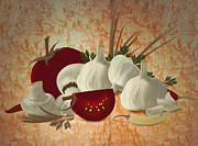 Zsolt Sesztak - Vegetable still life...