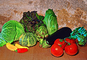 Tasteful Art Photo Prints - Vegetables Print by Marcia Colelli