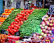 Open Market Metal Prints - Veggies Anyone Metal Print by Jon Berghoff