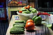 Special Gift Digital Art - Veggies by EricaMaxine  Price