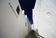 Pueblo Blanco Metal Prints - Vejer Metal Print by Robin Graham