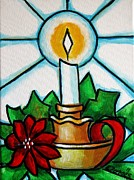 Candle Stand Paintings - Velapascua by Edgar Torres