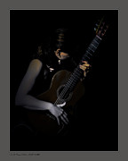"""blues Art"" Metal Prints - Velvet Chords Metal Print by Pedro L Gili"