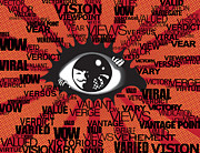 Vendetta Typography Print by Sassan Filsoof