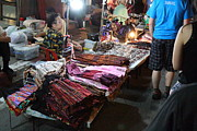 Seller Art - Vendors - Night Street Market - Chiang Mai Thailand - 01132 by DC Photographer