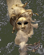 Closeup Photos - Venetian Face Mask C by Heiko Koehrer-Wagner