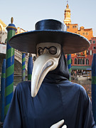 Venetian Face Mask G Print by Heiko Koehrer-Wagner