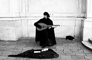 Music Photo Prints - Venetian Mandolin Player Print by John Rizzuto