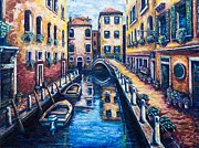 Pathway Paintings - Venetian Passages by Kevin Richard