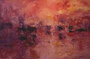 Italian Sunset Originals - Venetian red by R W Goetting