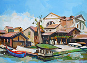 Landmarks Originals - Venetian Shipyard 2 by Filip Mihail