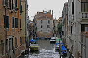 Backstreets Prints - Venetian Side Street Print by Tony Murtagh