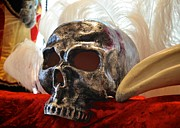 Skull Photos - Venetian Skull Mask by Matt MacMillan