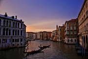 Jeka World Photography Posters - Venetian Violet Poster by Jeka World Photography
