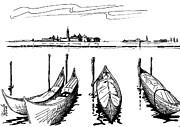 Venice Print by Andooga Design