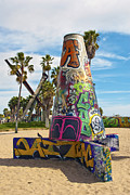 David  Zanzinger - Venice Beach Graffiti Pit
