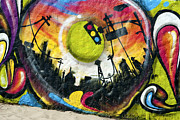 David  Zanzinger - Venice Beach Grafitti