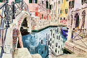 Godwin Cassar - Venice canal and bridge