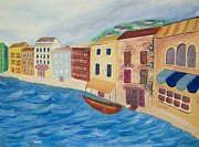 Right Side Originals - Venice Canal part 2 by Nicole Burnett