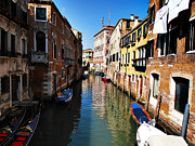 Venice Canal Print by Pat Cannon
