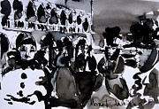 Mona Edulescu Paintings - Venice Carnival 3 by EMONA Art