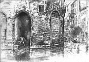 Venice Doorways 1880 Print by Padre Art