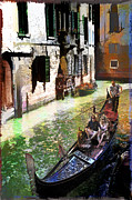 Steven Boone Art - Venice Flair by Steven Boone