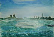 Maggiore Paintings - Venice by Geeta Biswas