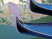 Venice Gondolas Print by Heiko Koehrer-Wagner