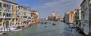Accademia Photos - Venice Grand Canal by Patrick Jacquet