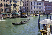 Gondolier Prints - Venice Holiday Print by Madeline Ellis