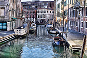 Pictures Of Art Digital Art - Venice Italy IV by Tom Prendergast